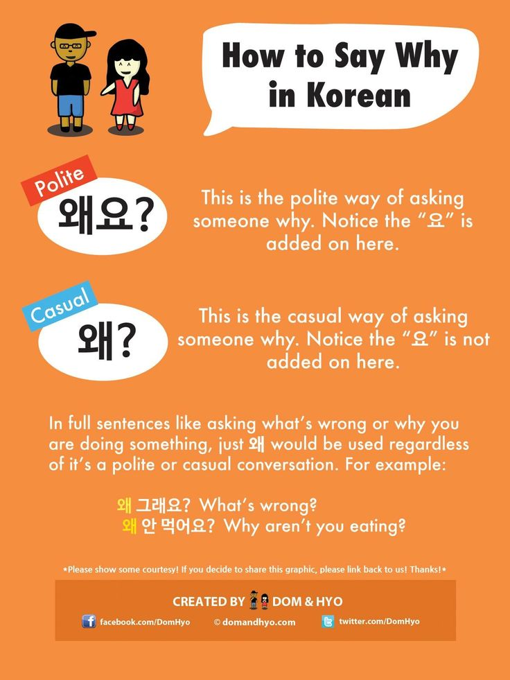 What do i do in korean language