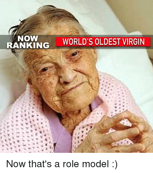 Who is the world s oldest virgin