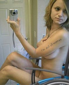 Naked pictures of girls in wheal chairs
