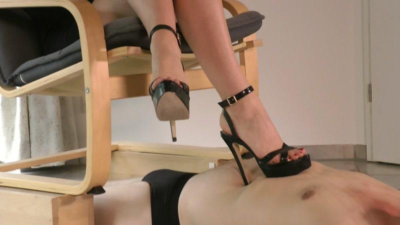 Mean cbt bdsm heels boots trample fetish