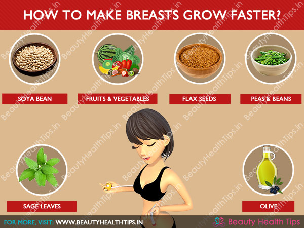 What to eat to get bigger boobs