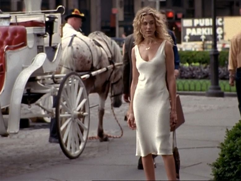The naked dress sex and the city