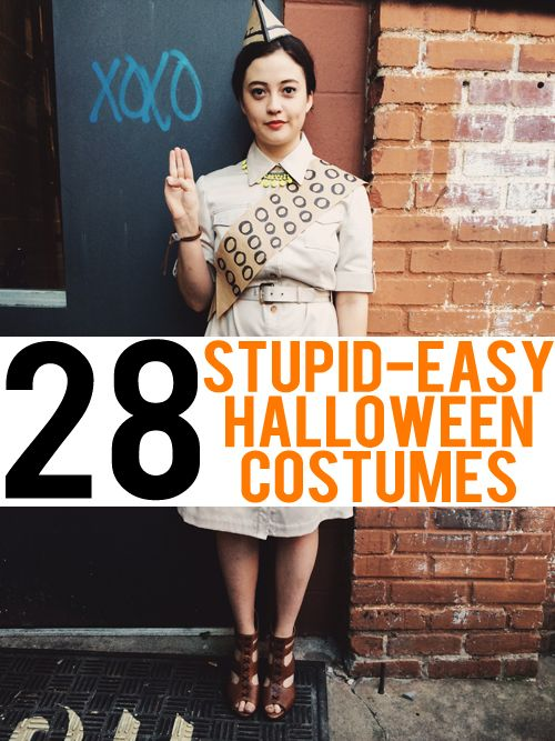 Quick easy costumes to make for adults