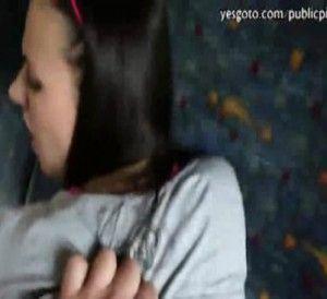 Bus train public dick sucking blowjobs gifs