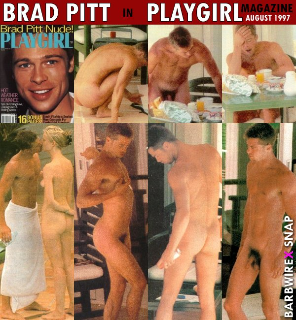 Show me nude pictures of brad pitt
