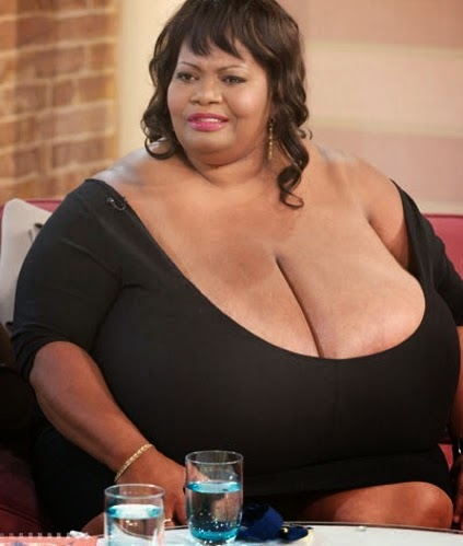Guinness book of world records biggest breast