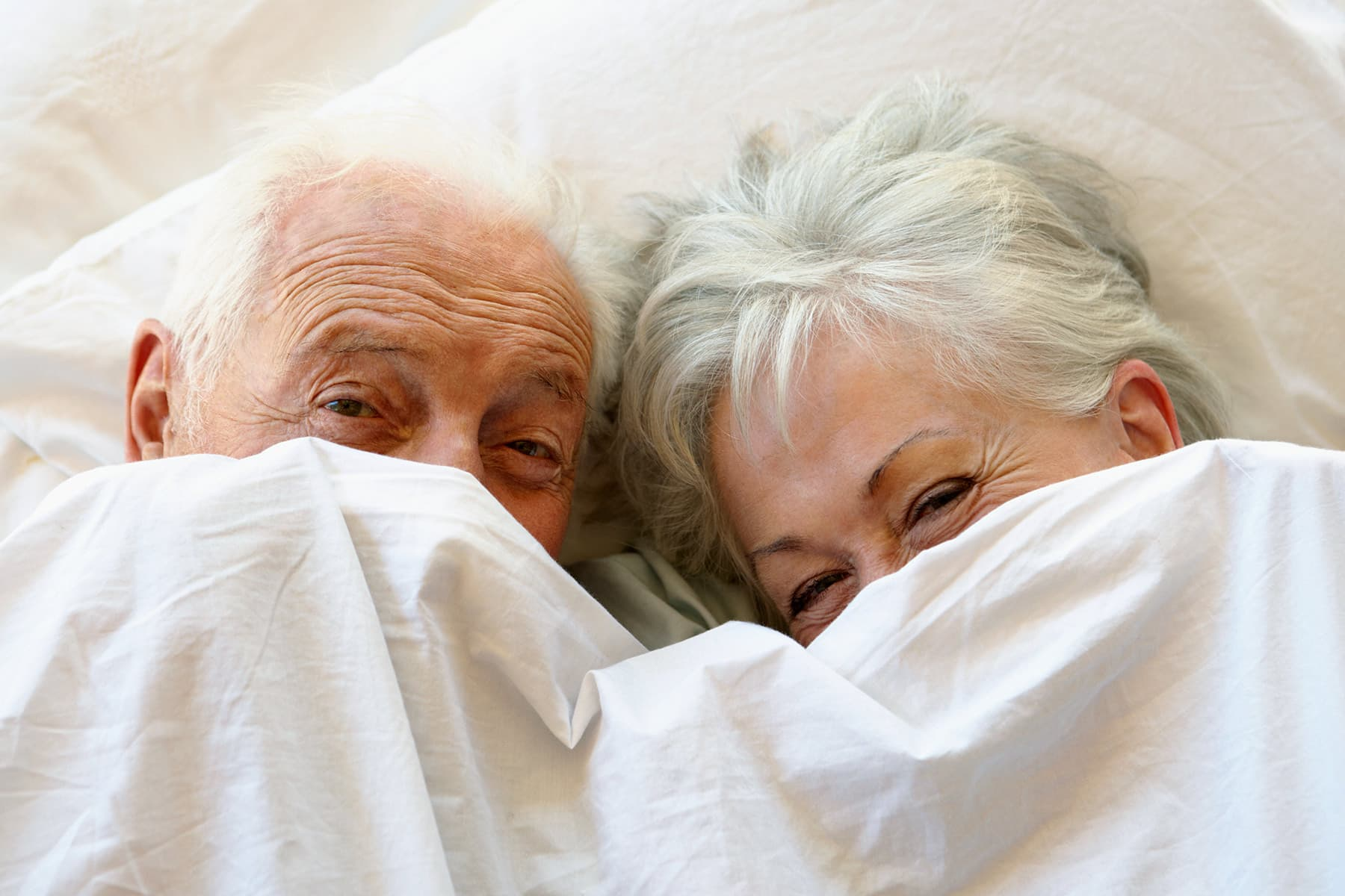 Visual erotic aids for older married couples
