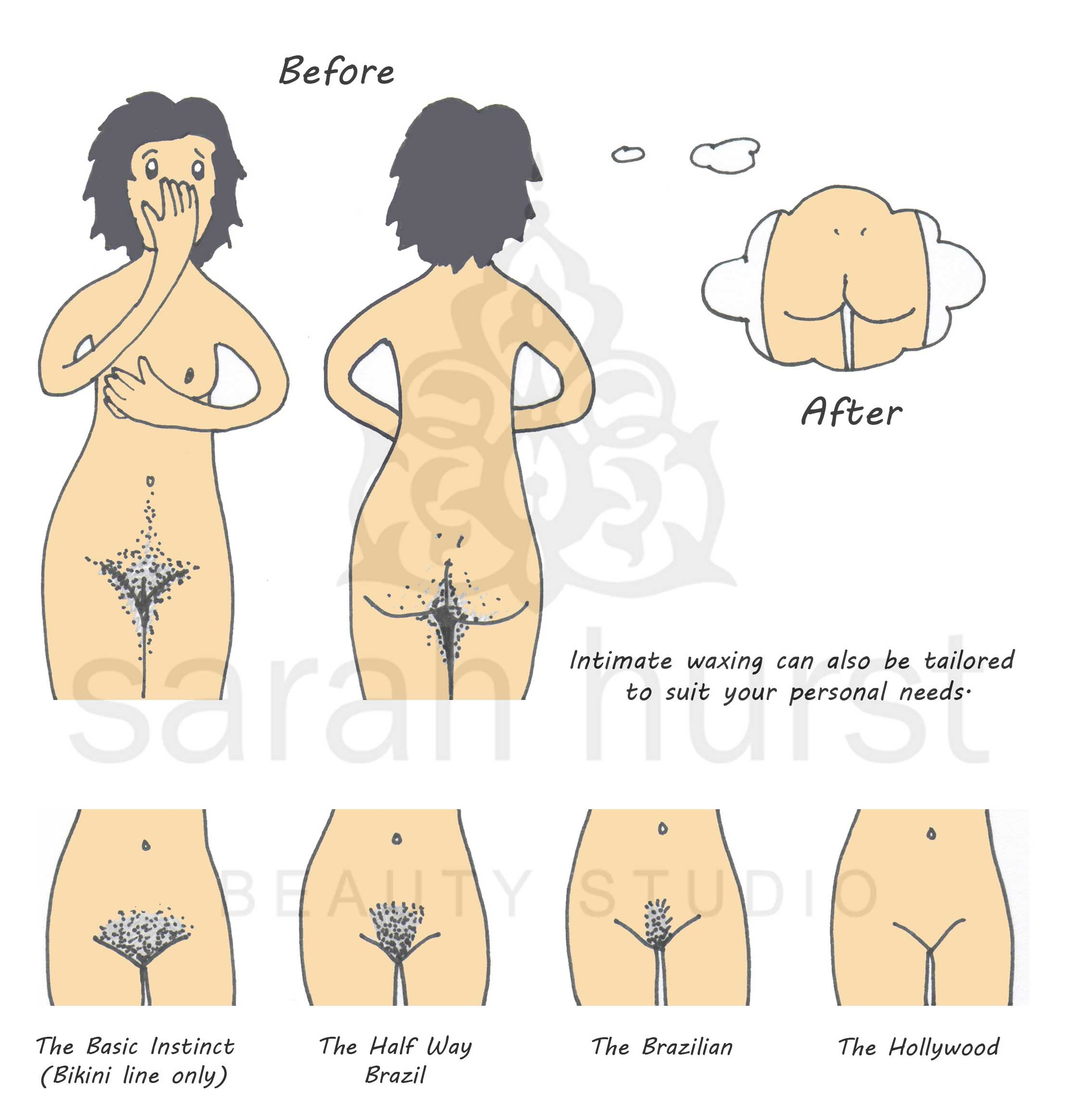 Brazilian wax before and after photos tumblr