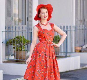 Tea length wedding dresses for mature brides