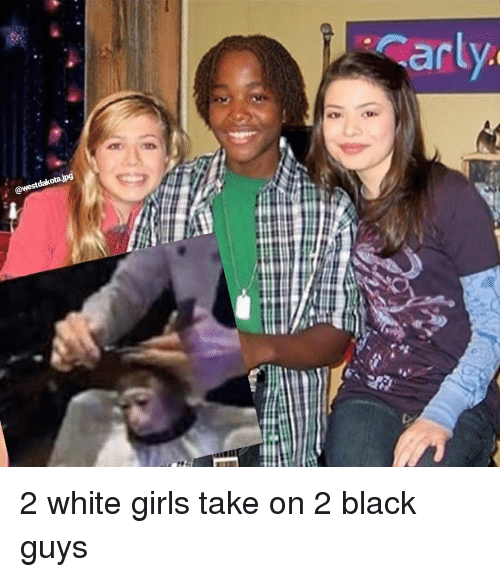 Threesome one black cock two white girls