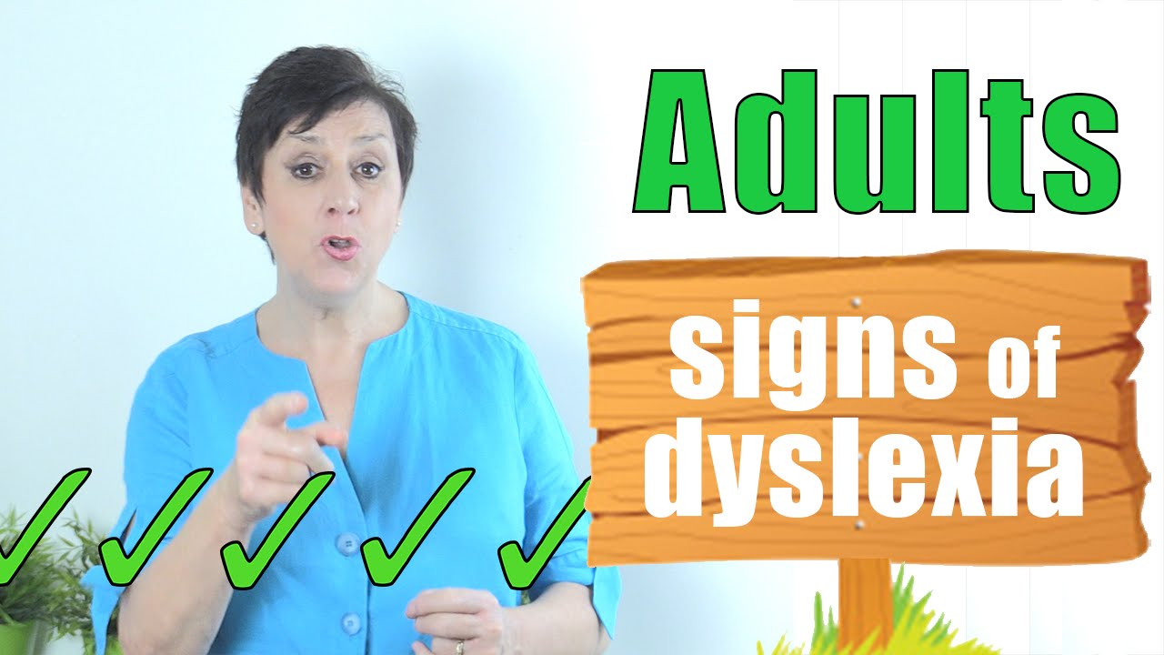 How to check for dyslexia in adults