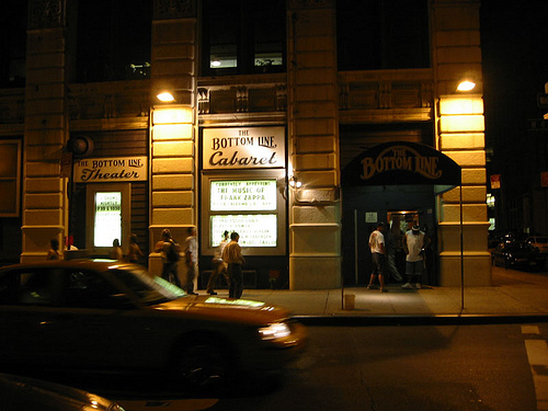 The bottom line club in new york