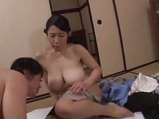 Asian moms with son s watching porn
