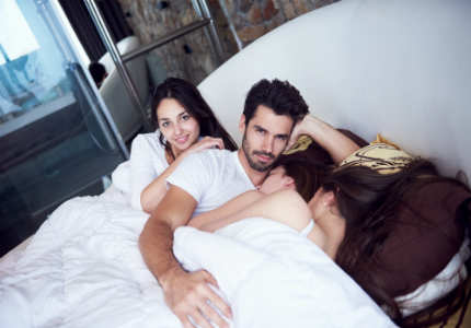Stories about women having threesome with husband