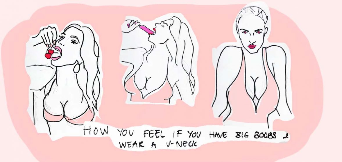 Why do some girls have no boobs