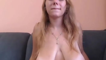 Big natural tit blonde amatuer milf swinger