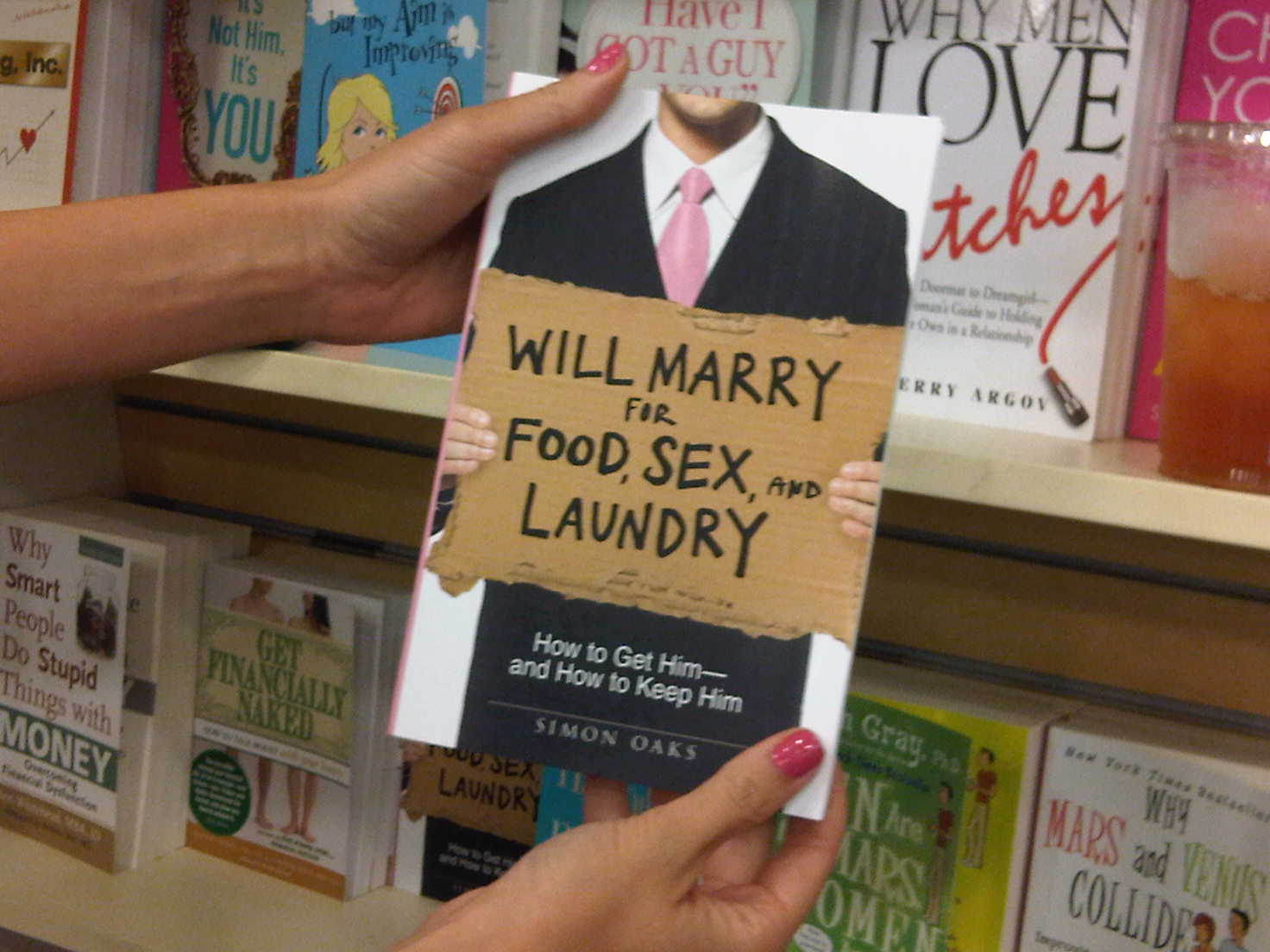Will marry for food sex and laundry