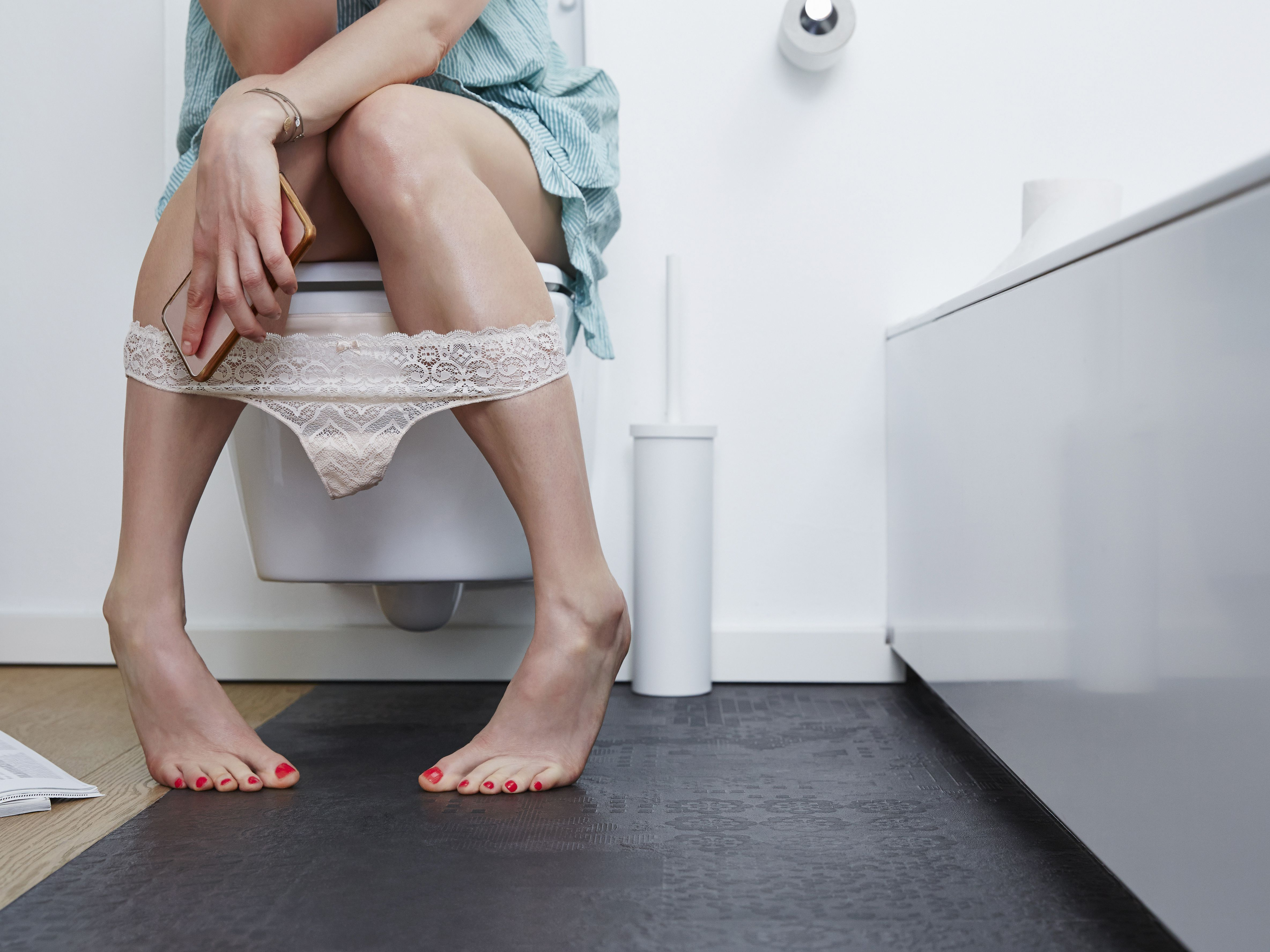 Passing blood through vagina with bowel movement