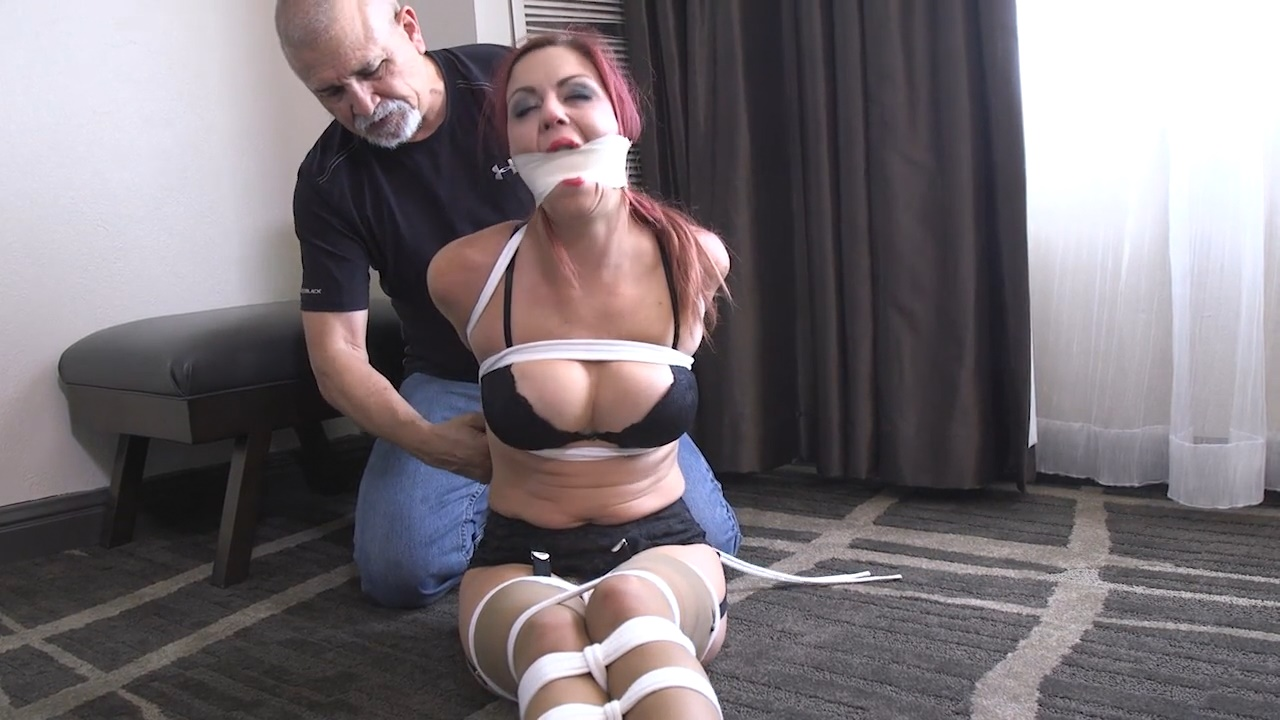 Please tie me up and gag me
