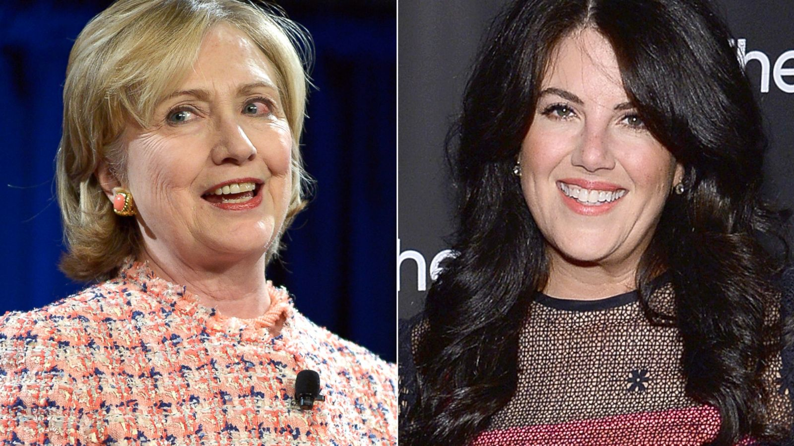 What did hillary clinton say about monica