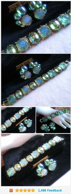 Costume jewelry rhinestone jewelry collectible vintage laurel