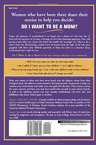 Do i want to be a mom