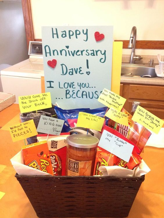 One year dating anniversary ideas for boyfriend