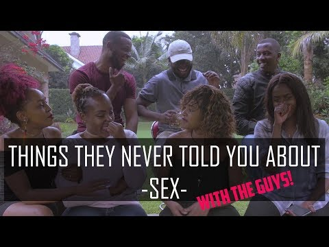 Things they never told you about sex