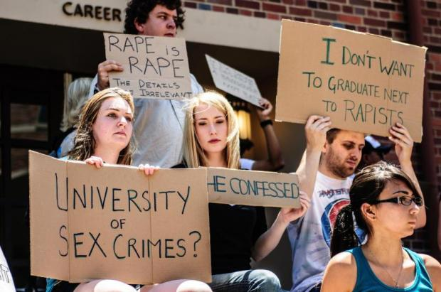 College response to campus sex crimes act