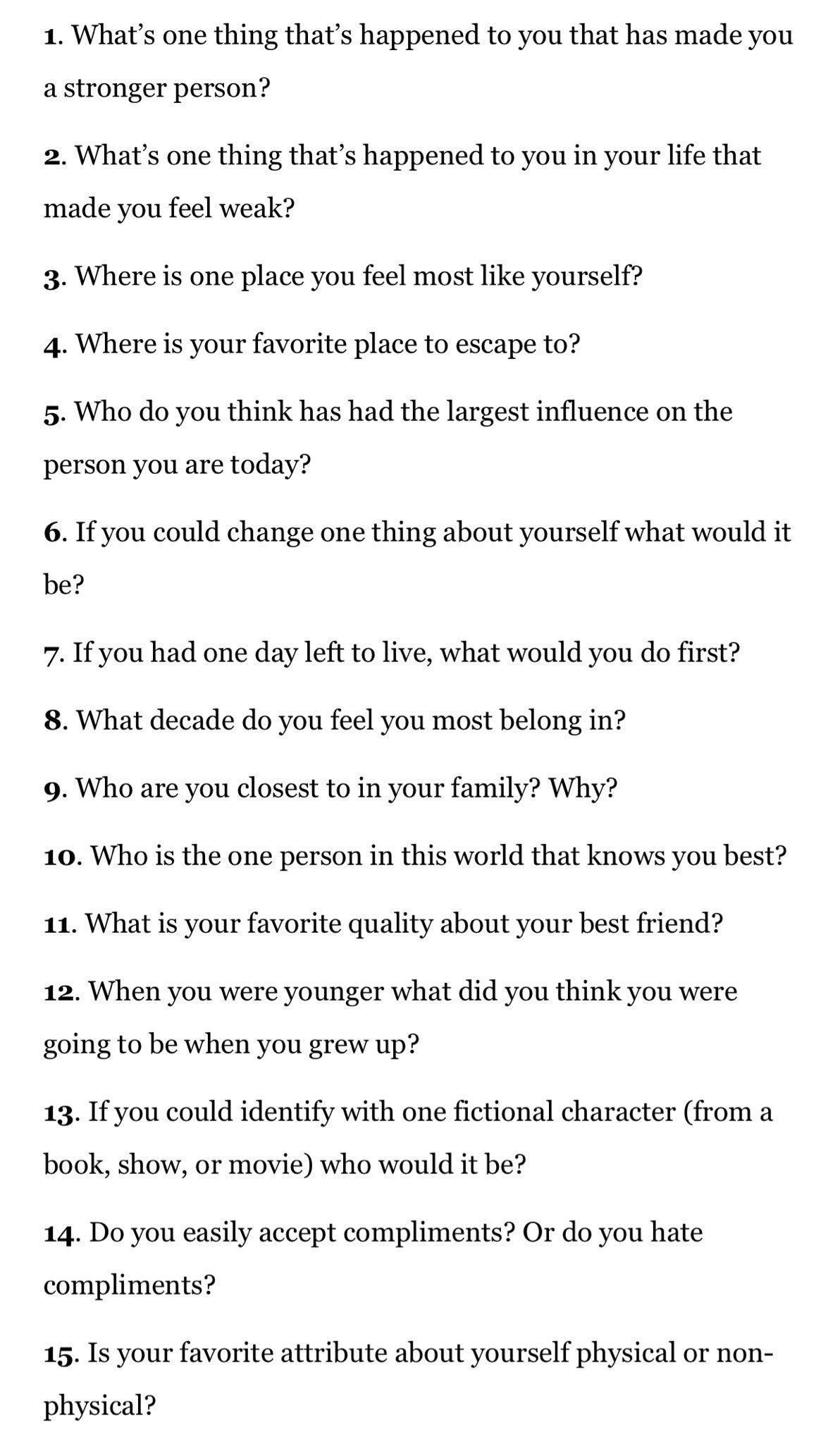 Questions to ask on a dating site