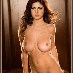 Skinny women big fake tits giving blowjobs