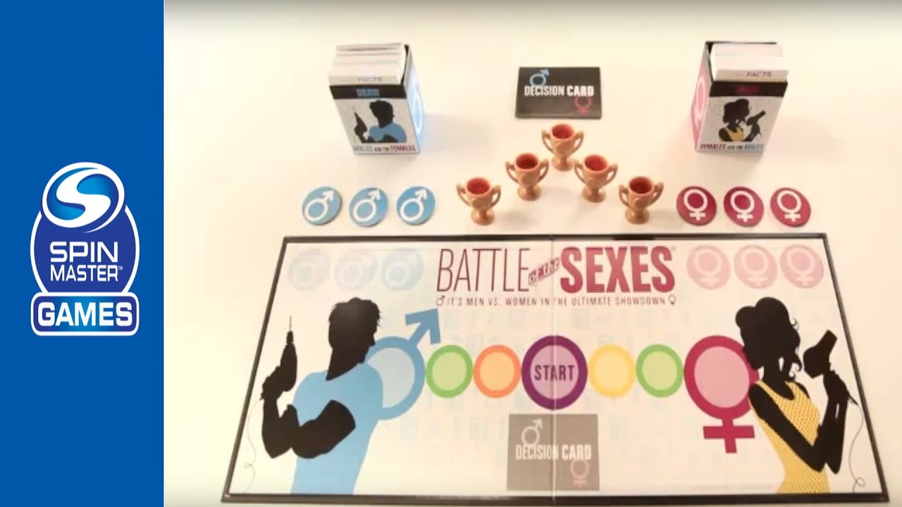 Battle of the sexes board game youtube