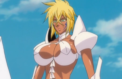 Who has the biggest boobs in bleach