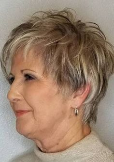 Easy haircuts for mature women thin hair