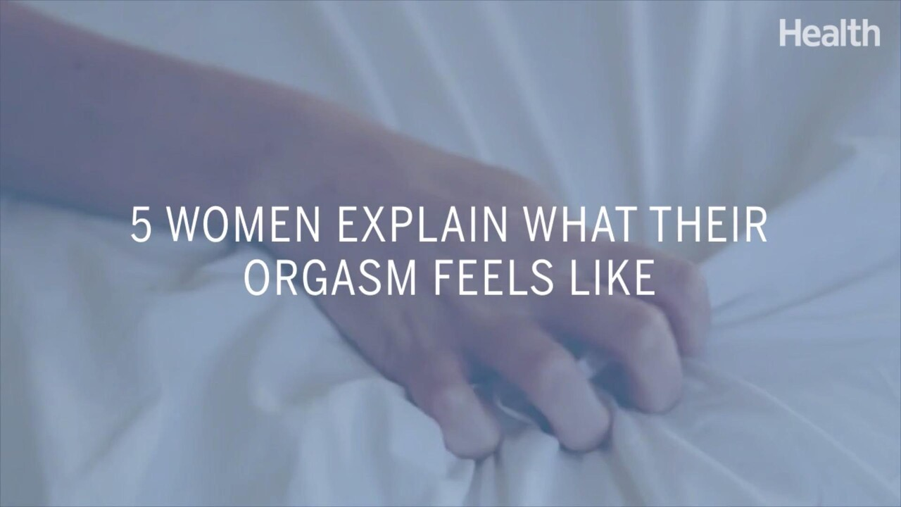 The feeling of orgasm without having sex