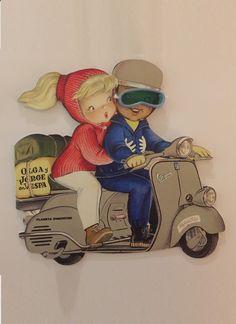J m harper vintage toy stork bank