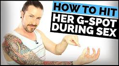 How do i hit her g spot