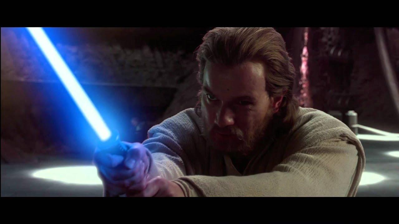 Anakin and obi wan vs count dooku