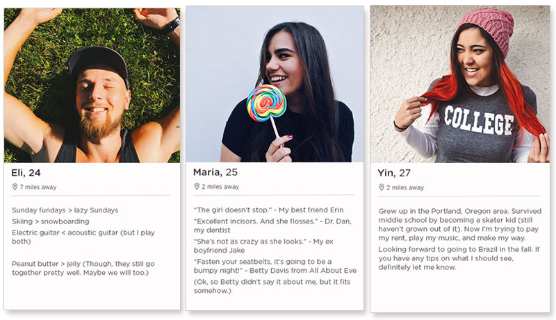 How to write a dating profile summary