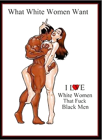 I want to fuck a white woman