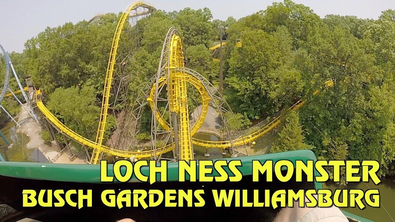 Loch ness monster busch gardens williamsburg pov