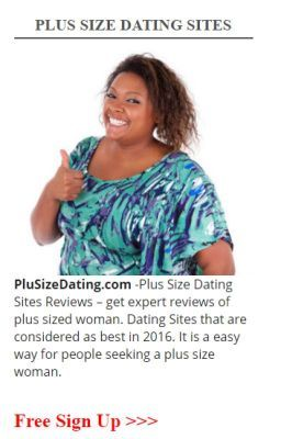Free dating sites for plus size ladies