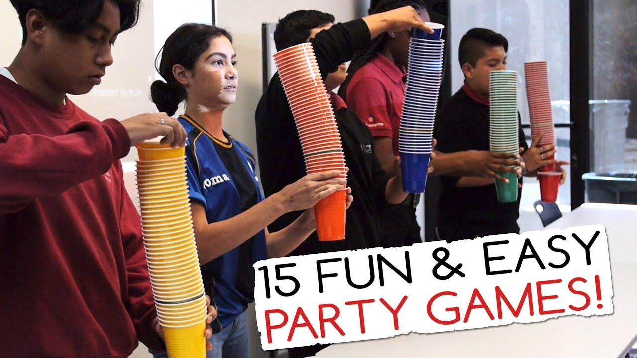 Indoor party games for adults large group