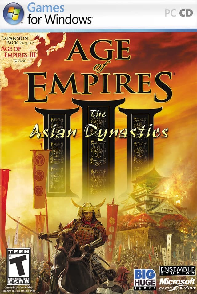 Age of empires asian dynasty no cd