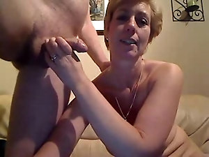 Mature couples having sex with old women