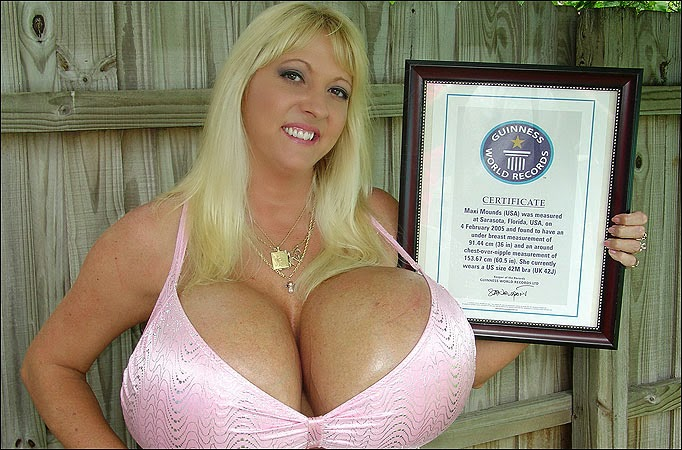 Who has the world s biggest tits