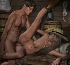Threesome two men and a woman porn