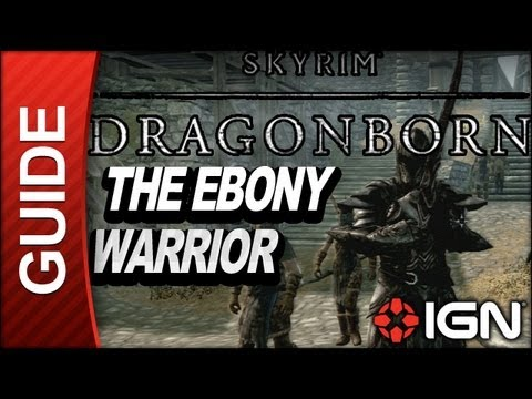 How to start the ebony warrior quest