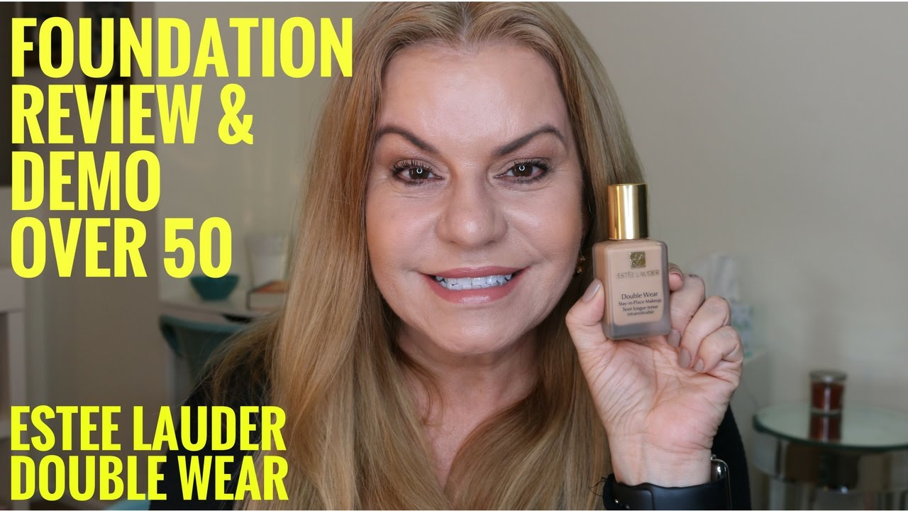 Estee lauder double wear for mature skin