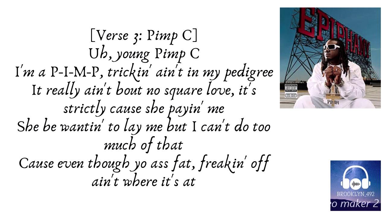 I m inlove lyric pain stripper t